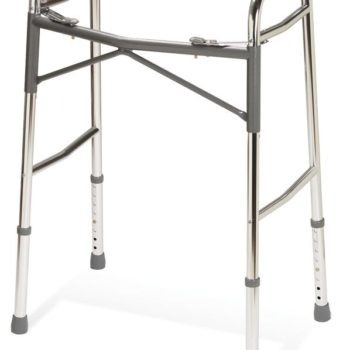 Adult Heavy-Duty Two-Button Folding Walkers,Standard