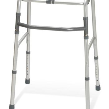 Adult One-Button Folding Walkers,Standard