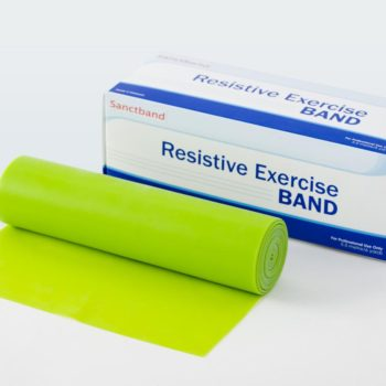 Exercise Bands by Sanctuary Health,Lime Green,18.00 FT