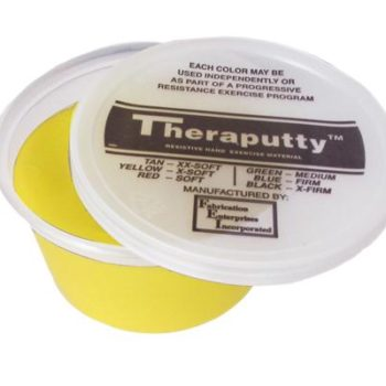 Theraputty Resistive Hand Exercise Material,Yellow,2.000 OZ