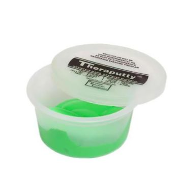 Theraputty Resistive Hand Exercise Material,Green,2.000 OZ