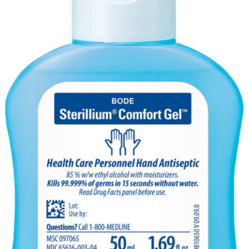 Sterillium  Comfort Gel Hand Sanitizers,Clear,50.00 ML
