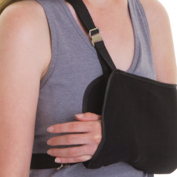 Sling Style Shoulder Immobilizers,X-Large