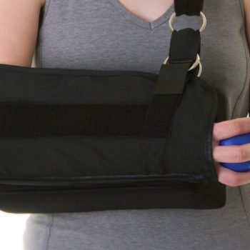 Shoulder Immobilizer with Abduction Pillow,X-Large