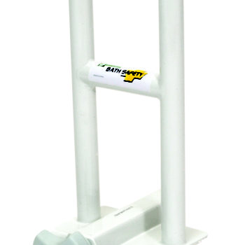 Adj. Tub Safety Bar - White