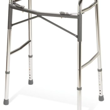 Youth Heavy-Duty Two Button Folding Walkers,Junior