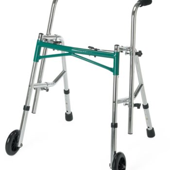 Pediatric Folding Walkers,Green,Junior