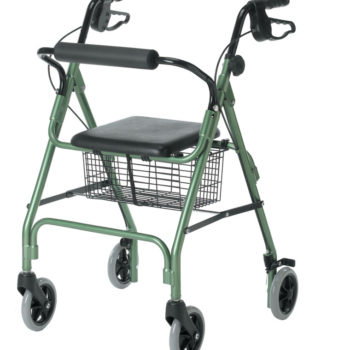 Guardian Economy Rollators,Green,6″