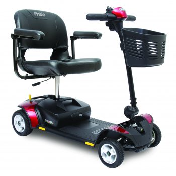 4-Wheel Go-Go Elite Traveller Scooter – 12 AH Battery