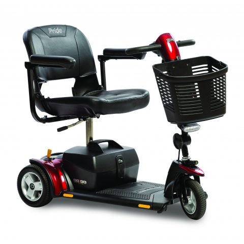 3-Wheel Go-Go Elite Traveller Scooter