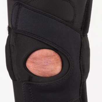 Hinged Lateral J Knee Brace – Left
