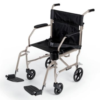 Ultralight Transport Chairs,Silver,F: 6   R: 8