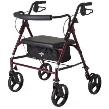 Rollators – Steel – Bariatric – 8 In.Whls