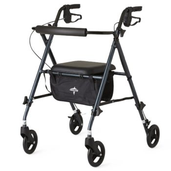 Rollator – UltraLight – Blue -6 In.Whls