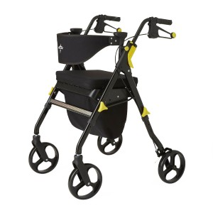 Rollator – Empower – Black -8 In.Whls