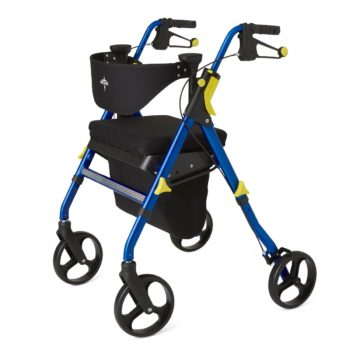 Rollator – Empower – Blue – 8 In.Whls