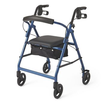Rollator – Blue – 6 In.Whls