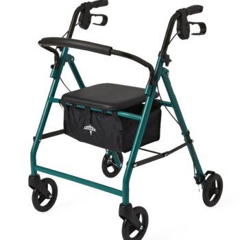 Rollator – Steel – Green – 6 In.Whls