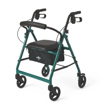 Rollator – Green – 6 In.Whls
