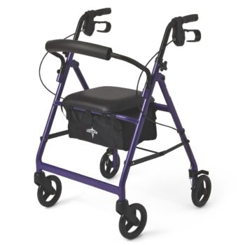 Rollator – Purple – 6 In.Whls