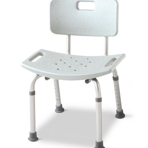 Aluminum Bath Bench with Back