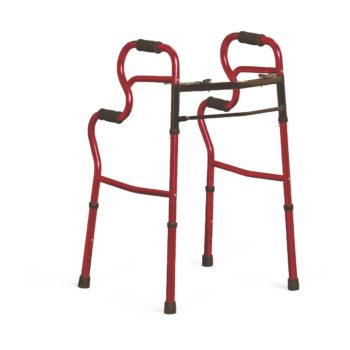 Adult Stand-Assist Walkers,Red,Adult