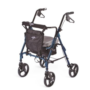 Rollators – Deluxe – Blue – 8 In.Whls