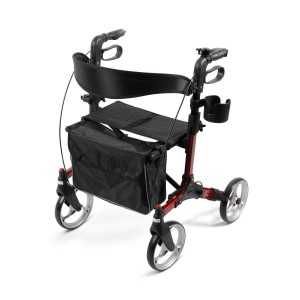 Rollator – Simplicity – Red – 8 In.Whls