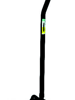 Large Base Quad Cane - Black
