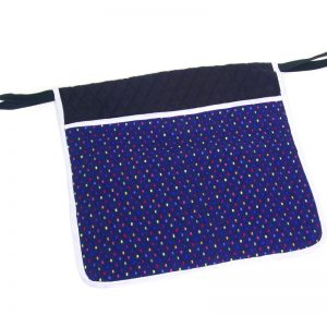 Deluxe Quilted Pouch – Confetti