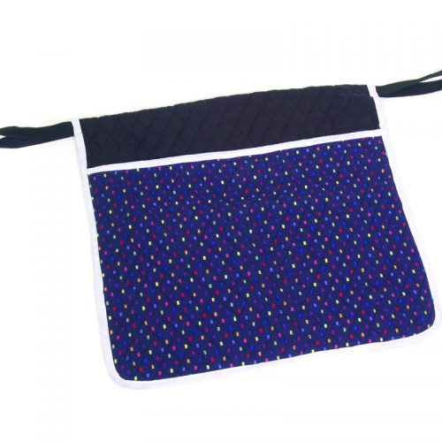 Deluxe Quilted Pouch - Confetti